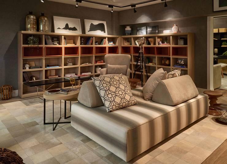 Salones de estilo  de Lider Interiores