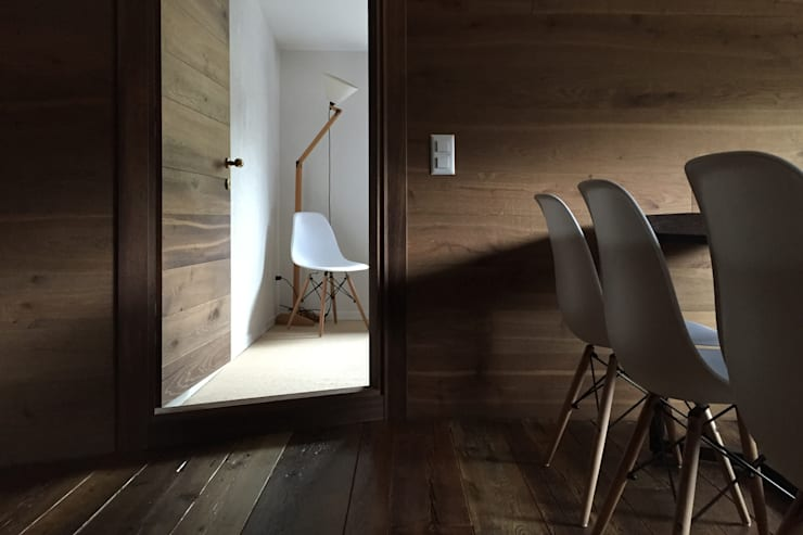 Dining room by davide petronici | architettura, Country Wood Wood effect