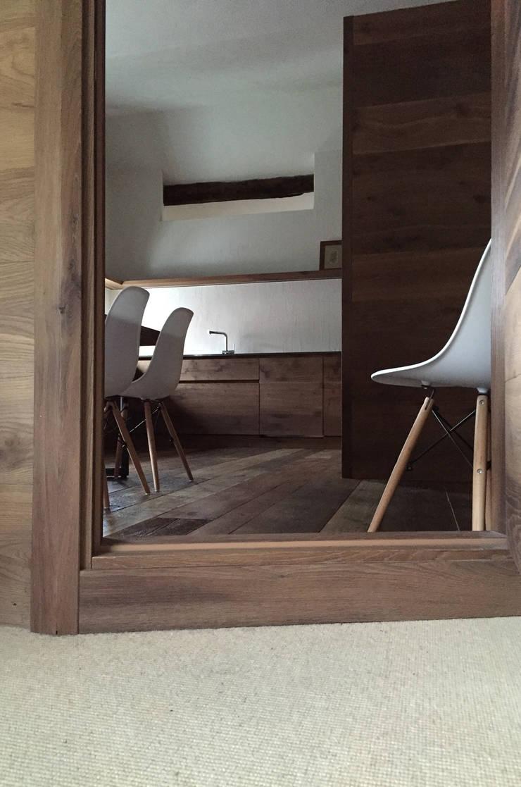 Kitchen by davide petronici | architettura, Country Wood Wood effect