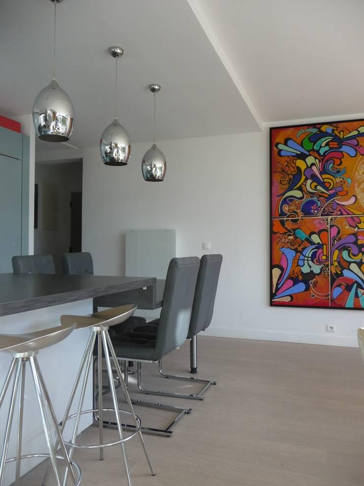 Duplex Parc de Bercy: Cuisine de style  par AADD+