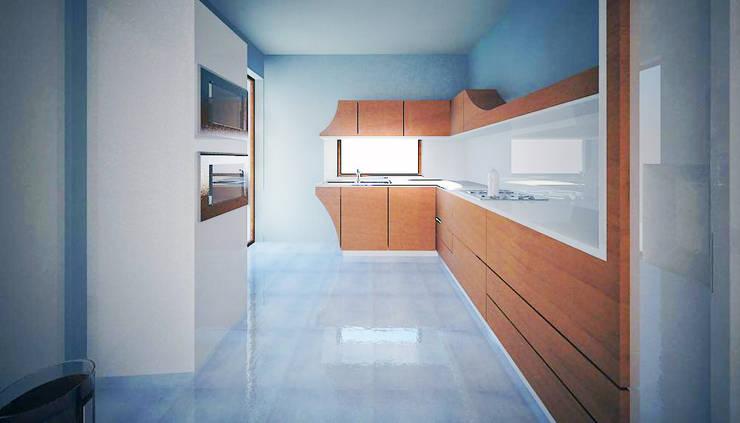 casa Iol: Cucina in stile  di mera architetti