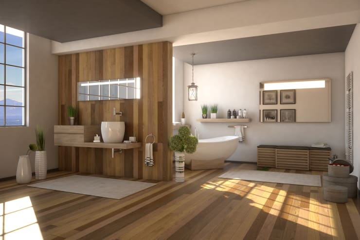 Bathroom G&C: Bagno in stile  di Ivan Rivoltella