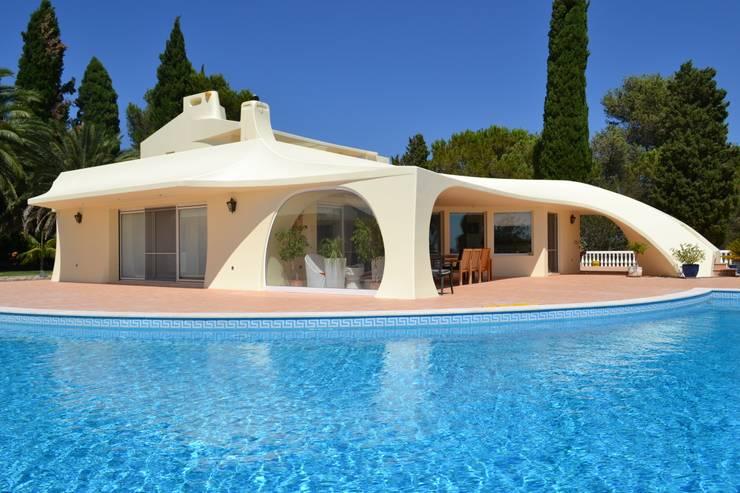 Projekty,  Domy zaprojektowane przez RenoBuild Algarve