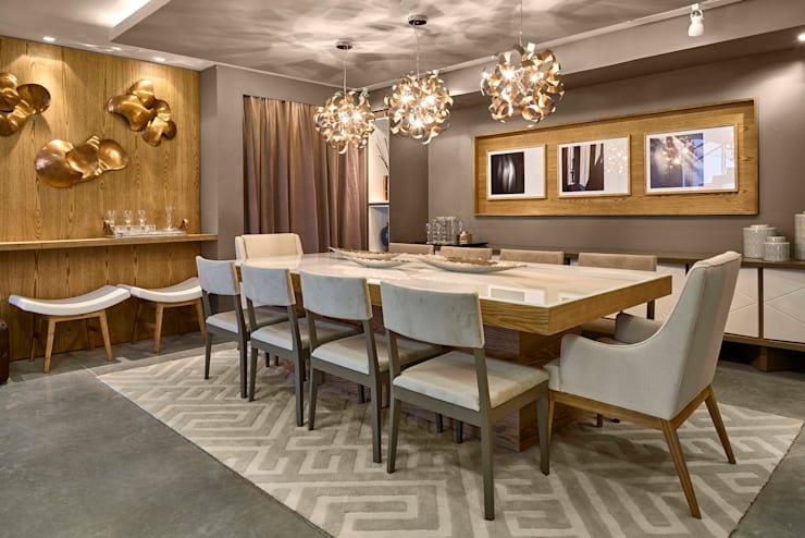 Dining room by Lider Interiores, Modern