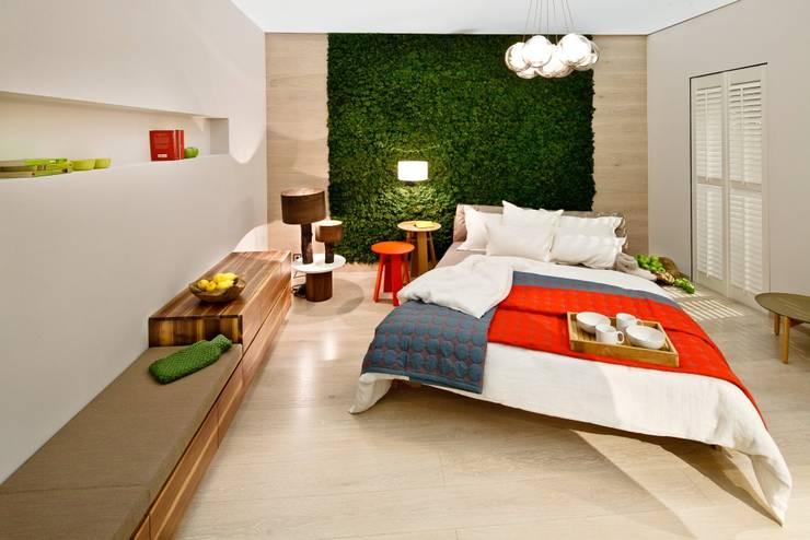 Moss Turkey – İÇ MEKAN TASARIM: akdeniz tarzı tarz Yatak Odası