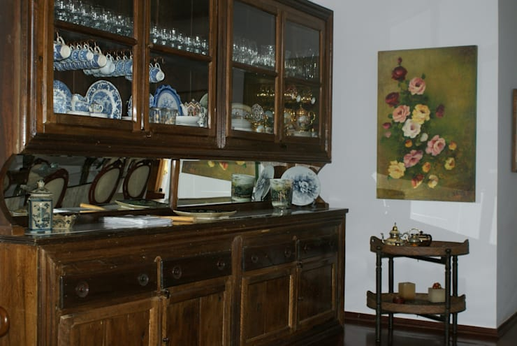 Residência C&M   Alphaville   São Paulo: Salas de jantar  por Daniela Zuffo Arquitetura e Interiores