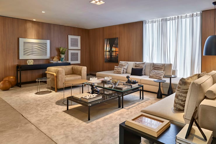 Decora Lider Salvador - Living: Salas de estar modernas por Lider Interiores