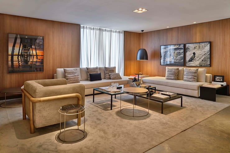 modern Living room by Lider Interiores