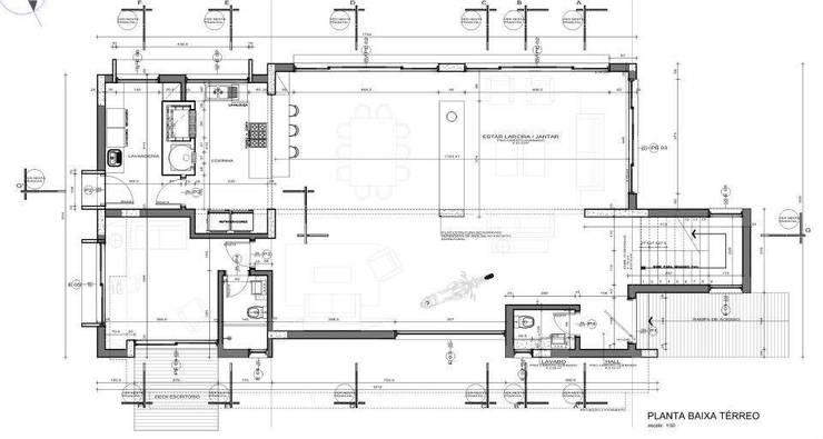 Casa Grafulha: Casas  por Super StudioB