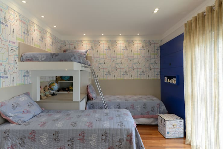 غرفة الاطفال تنفيذ LAM Arquitetura | Interiores