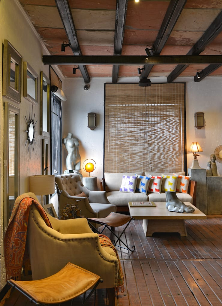 The Delhi Design Store:  Study/office by monica khanna designs