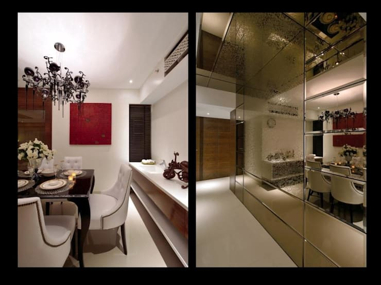 modern Dining room by homify