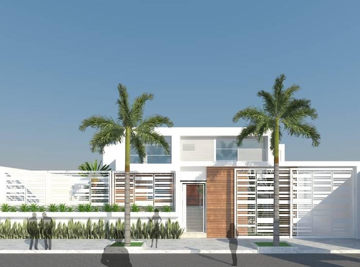 Remodelación Casa La Viña.: Casas de estilo  por Marianny Velasquez arquitecto