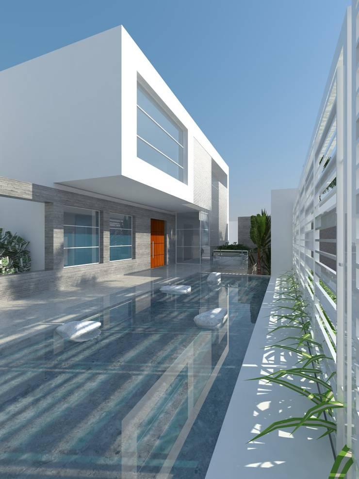 Remodelación Casa La Viña.: Casas de estilo minimalista por Marianny Velasquez arquitecto