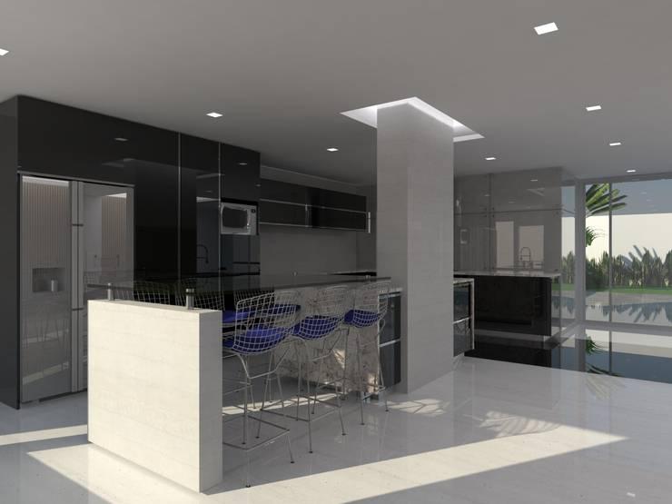 Cocinas de estilo  por Marianny Velasquez arquitecto