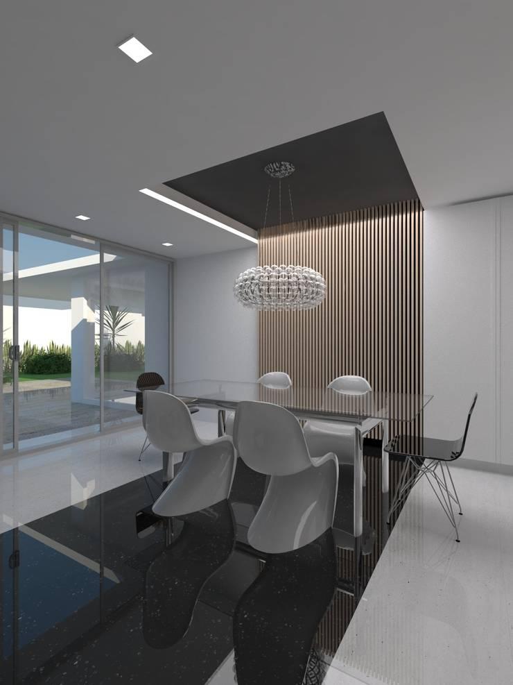 Remodelación Casa La Viña.: Comedores de estilo minimalista por Marianny Velasquez arquitecto