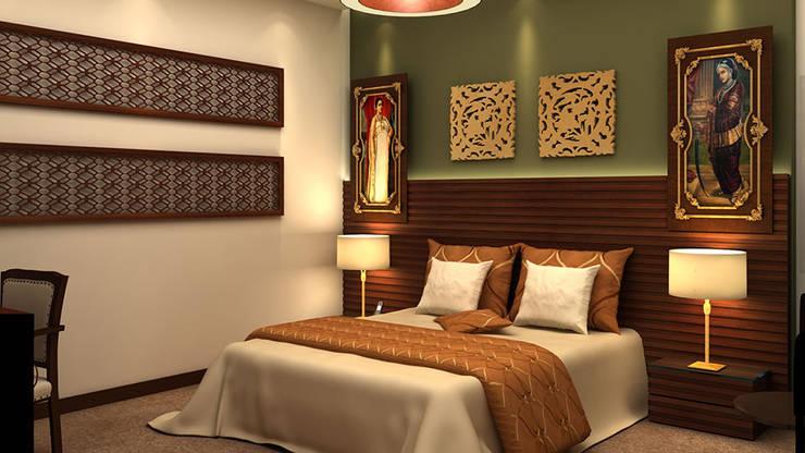 Varanasi Hotel:   by FYD Interiors Pvt. Ltd