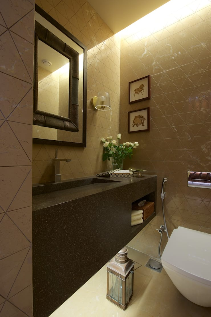 AVS Apartment :  Bathroom by Atelier Design N Domain
