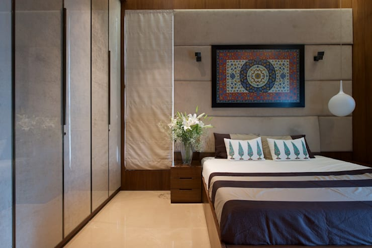 AVS Apartment :  Bedroom by Atelier Design N Domain