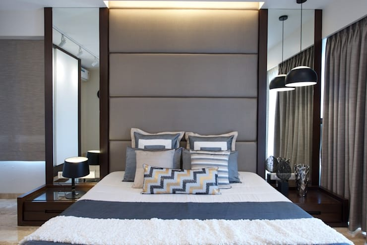 AS Apartment :  Bedroom by Atelier Design N Domain