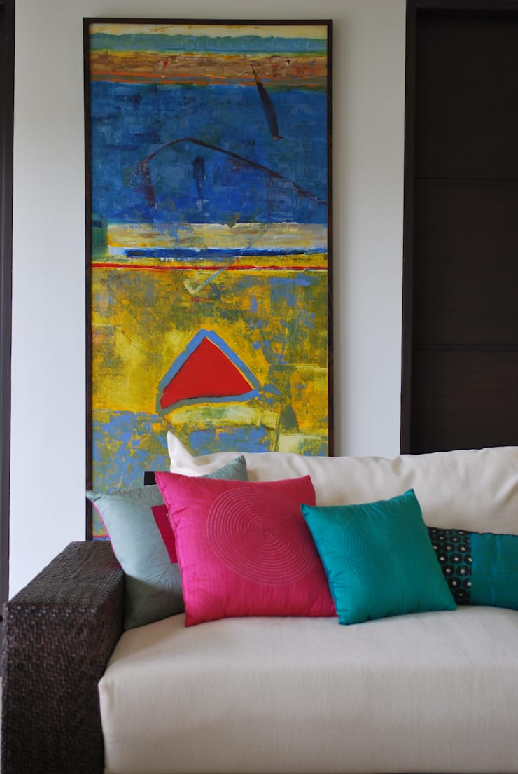 JSL Villa: modern Living room by Atelier Design N Domain