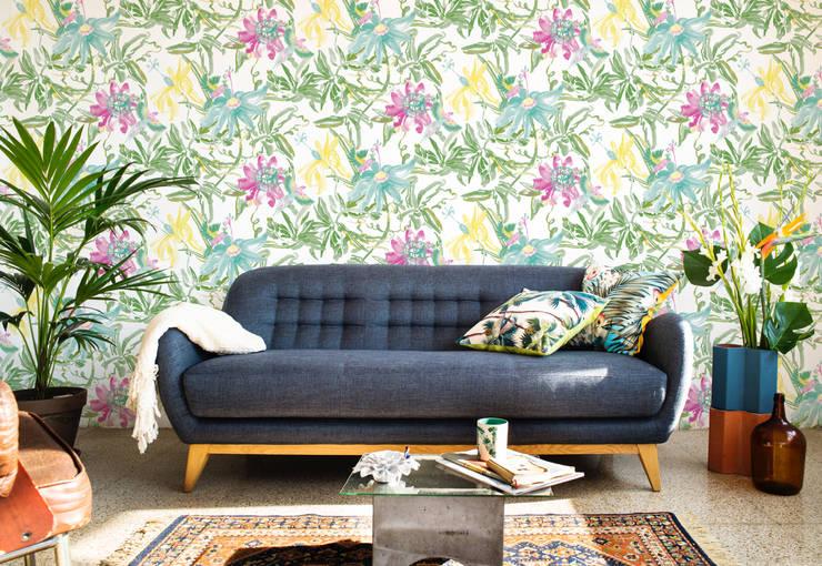 Projekty,  Ściany i podłogi zaprojektowane przez Bloompapers