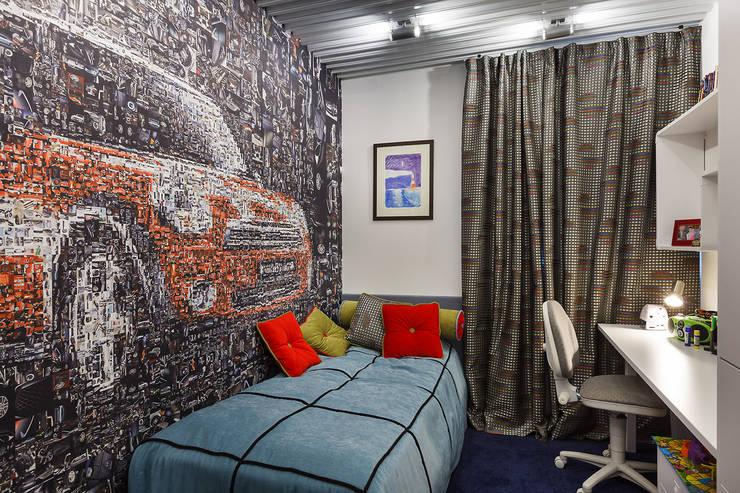 Юдин и Новиков Дизайн-студияが手掛けた子供部屋