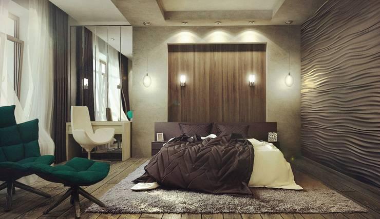 Дом в п. Архангельский : Спальни в . Автор – Kakoyan Design