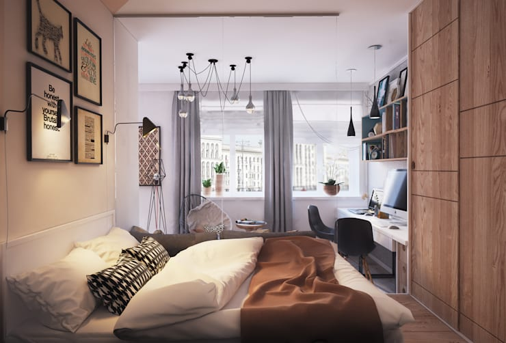 minimalistic Bedroom by Polygon arch&des
