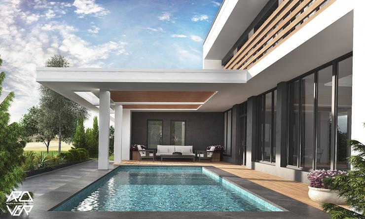 FAMILY HOUSE JW_09: styl , w kategorii Domy zaprojektowany przez Rover Building Company Europe