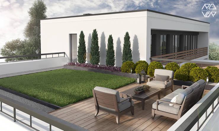 FAMILY HOUSE JW_09: styl , w kategorii Ogród zaprojektowany przez Rover Building Company Europe