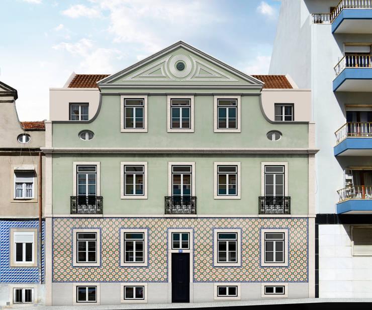 Pereira e Sousa: Casas  por MATELIER ARQUITECTOS