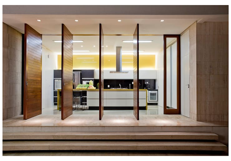 Cocinas de estilo  por ANDRÉ BRANDÃO + MÁRCIA VARIZO arquitetura e interiores