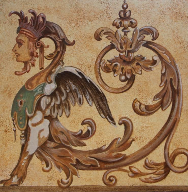 Decorazione classica di colori nel tempo decorazioni - Decorazioni pittoriche ...