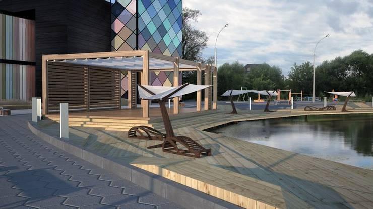 Торговый Центр в г. Красногорск   микрорайон Опалиха :  в . Автор – Kakoyan Design