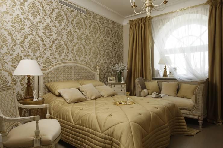 Bedroom by СТУДИЯ ЮЛИИ НЕСТЕРОВОЙ