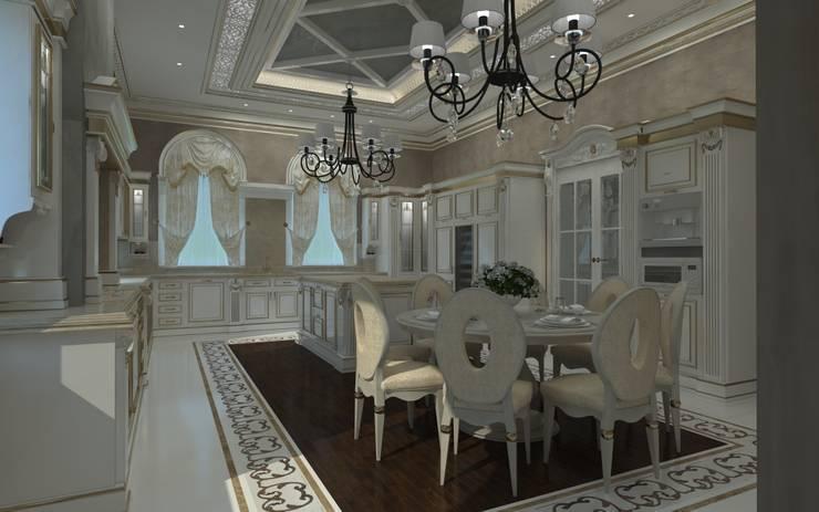 Кухня в классическом стиле : Кухни в . Автор – Kakoyan Design