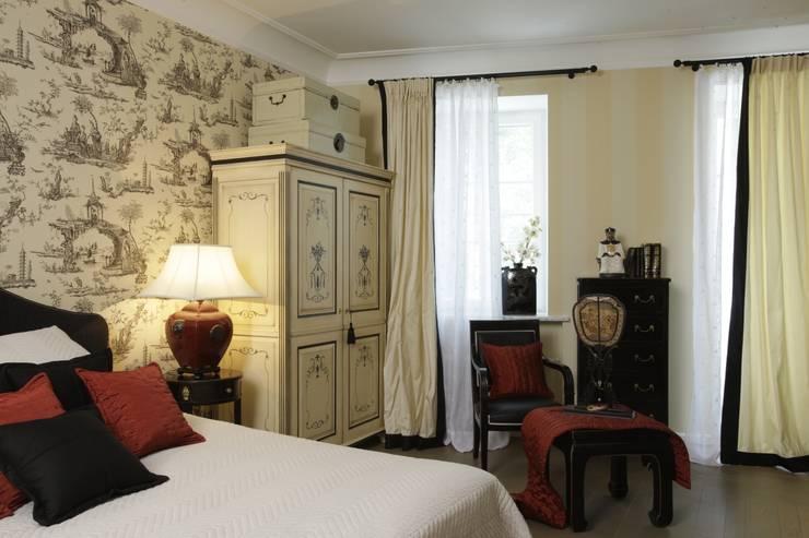 Китайская спальня: Спальни в . Автор – СТУДИЯ ЮЛИИ НЕСТЕРОВОЙ