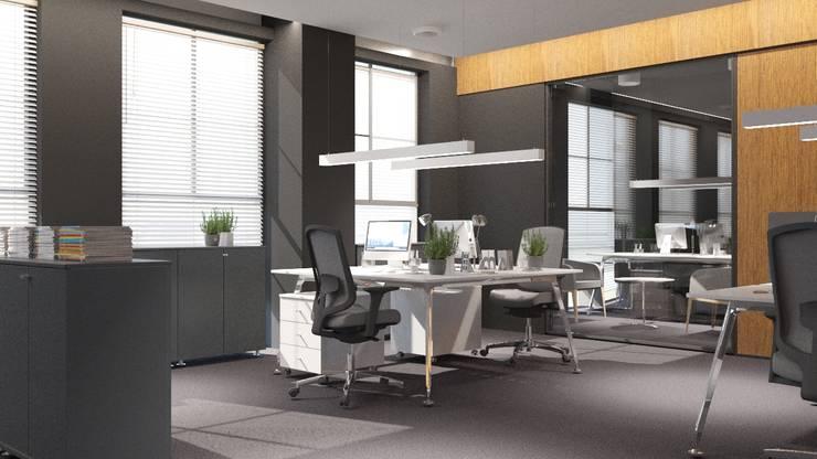 FARGO DESIGNS – YONETIM BINASI / :  tarz Ofis Alanları
