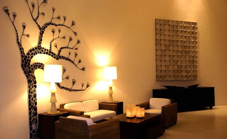 Hotel Pacífica: Hoteles de estilo  por Olivia Aldrete Haas