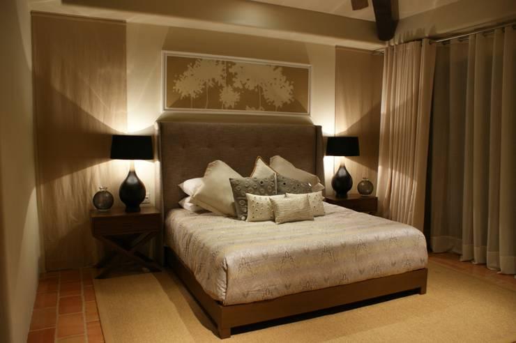 Penthouse Hacienda Dormitorios modernos de Olivia Aldrete Haas Moderno