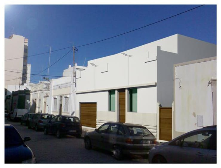 Projeto de Restauro e Ampliação: Casas  por Mendonça Santos Arquitetos & Associados