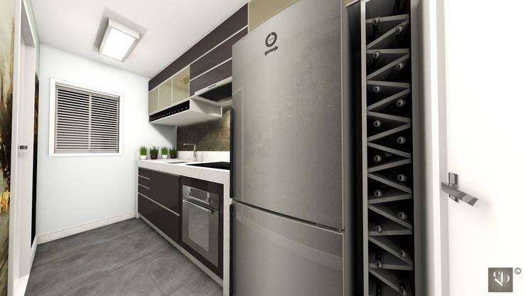 Cozinha: Cozinhas  por Gustavo Bodini | Designer de Interiores,Moderno