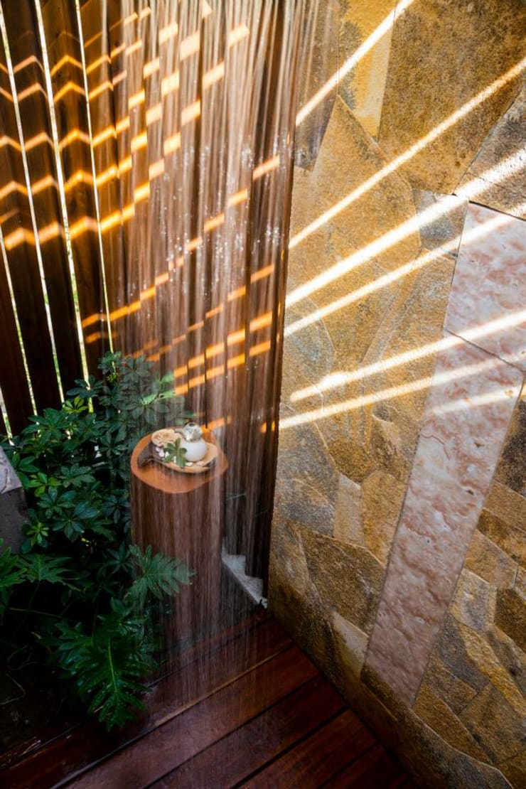 SPA Matlali: Jardines de estilo  por BR  ARQUITECTOS