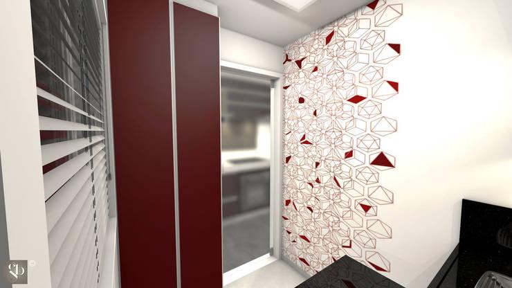 Área de serviço: Cozinhas  por Gustavo Bodini | Designer de Interiores,Moderno