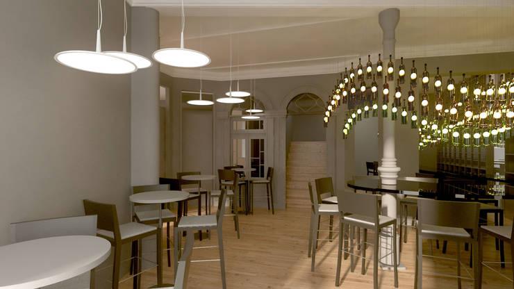 Projecto Bar /Restaurante: Espaços de restauração  por Lendas e Detalhes, Lda