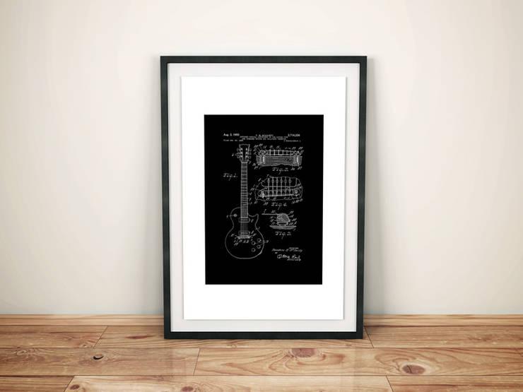 Pack HOMBRE DE ROCK: Arte de estilo  por WALLART