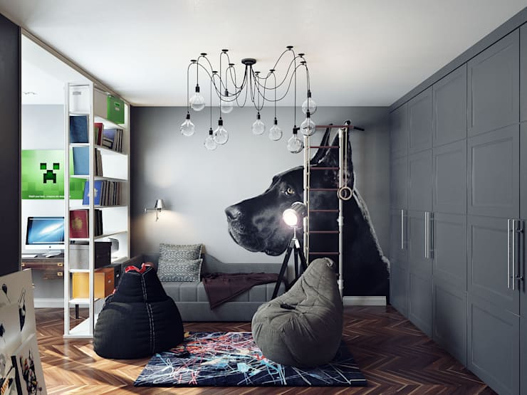 Nursery/kid's room by Хороший план