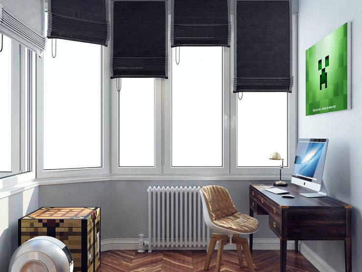 Апартаменты в ЖК Доминион: Детские комнаты в . Автор – Хороший план