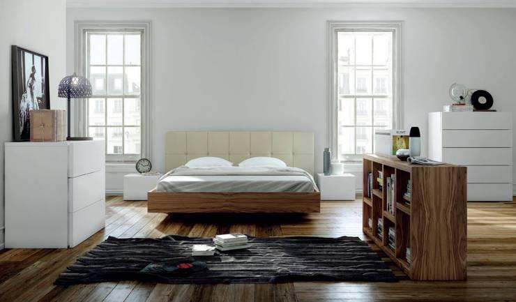 Mobiliário de quarto Bedroom furniture www.intense-mobiliario.com  Taolf http://intense-mobiliario.com/product.php?id_product=8684: Quarto  por Intense mobiliário e interiores;